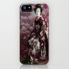 Once Upon A Time in Tokyo XVIII iPhone Case