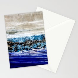 ...blurred line of horizons Stationery Cards