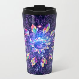 GALACTIC MANDALA Metal Travel Mug