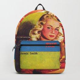 Lesbian Sex Exploitation Vintage Cover Backpack