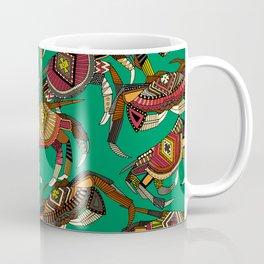 crabs green Coffee Mug
