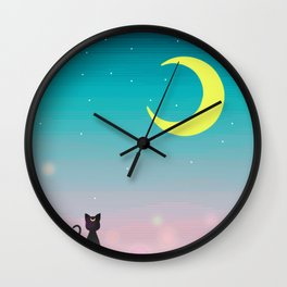 Sailor Night Wall Clock