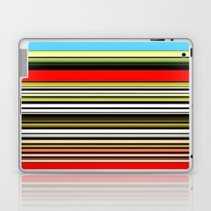 Red, blue and something in between. Laptop & iPad Skin