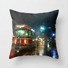 Streetcar Interruptus Throw Pillow