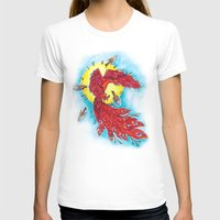 phoenix T-shirts featuring Phoenix by missfortunetattoo