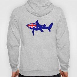 Australian Flag - Shark Hoody