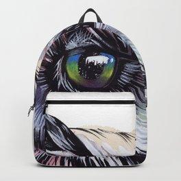 A gaze to infinity Backpack