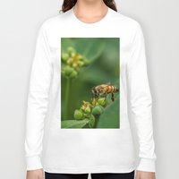 bees Long Sleeve T-shirts featuring Bees by Gustavo Aragundi