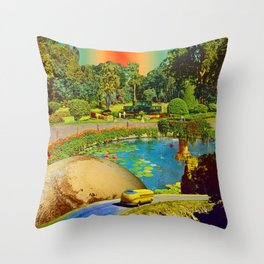 Gardens of Pluto Throw Pillow