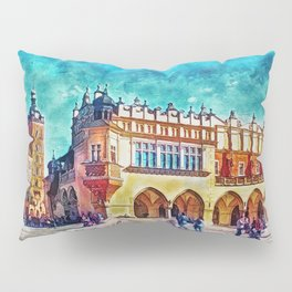 Cracow Main Square Pillow Sham