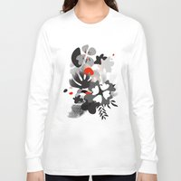 scandinavian Long Sleeve T-shirts featuring scandinavian nature by Lucja