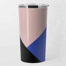 Getting Blocky Blue Travel Mug