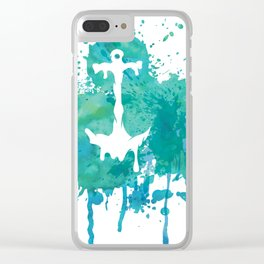 Anchor Clear iPhone Case
