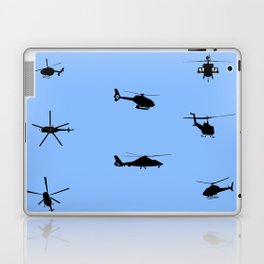 Helicopter Pattern Laptop & iPad Skin