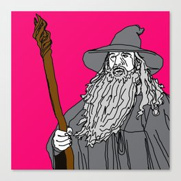 Gandolf (2016) Canvas Print