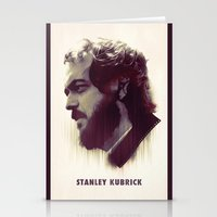 stanley kubrick Stationery Cards featuring Stanley Kubrick by Mahdi Chowdhury