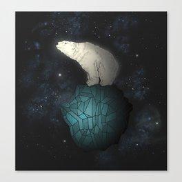 Bear Cosmos Canvas Print