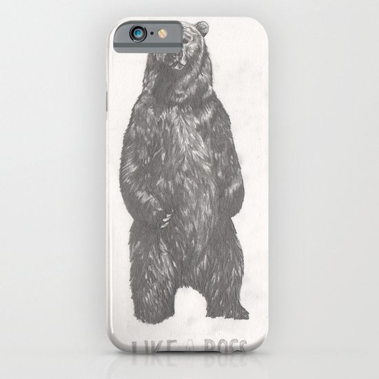 Like a Boss Bear iPhone & iPod Case