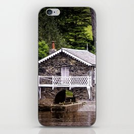 Boatshed On The Lake iPhone Skin
