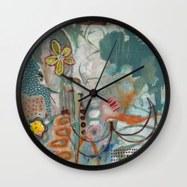 Not so Green Thumb Wall Clock