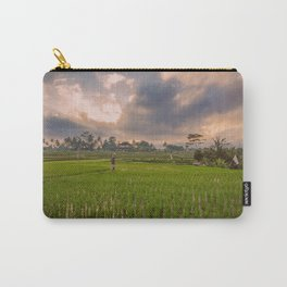 Bali rice field Carry-All Pouch