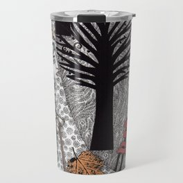 Autumn in the Park Travel Mug