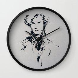 Splaaash Series - Mastermind Ink Wall Clock
