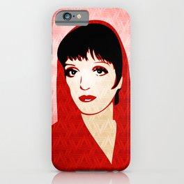Liza Minnelli - Warhol Era - Pop Art iPhone Case
