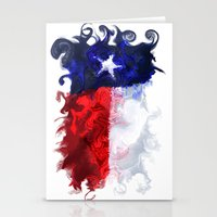 texas Stationery Cards featuring Texas by Lyndi May