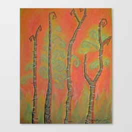 African Birch Canvas Print