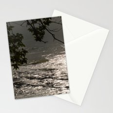 In A Misty Rain Stationery Cards