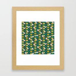Gourmet Garden Framed Art Print
