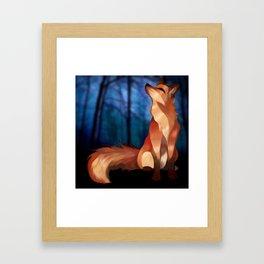 Wild At Heart Fox Framed Art Print