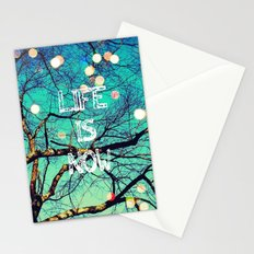 Life Is Now Stationery Cards