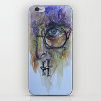 harry potter iPhone & iPod Skins featuring POTTER by Frageroux