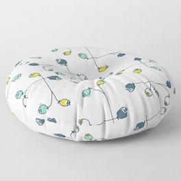 cute ballflower Floor Pillow