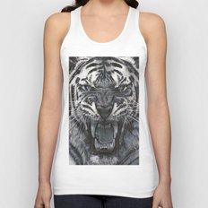Tiger Roar! - By Julio Lucas Unisex Tank Top