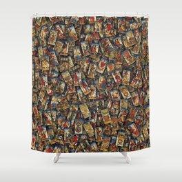 Tarot cards Shower Curtain