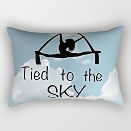 "Aeiralist ""Tied to the Sky"" Graphic Rectangular Pillow"