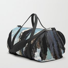 Watercolor Pelican feast Duffle Bag