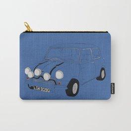 The Italian Job Blue Mini Cooper Carry-All Pouch