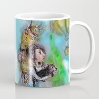oz Mugs featuring  oz by AliluLera