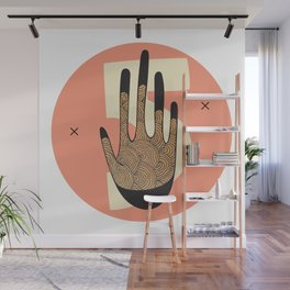 High Five in Warms Wall Mural
