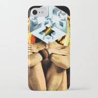 dark side of the moon iPhone & iPod Cases featuring Dark Side of the Moon by Joellart