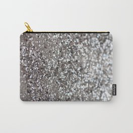 Sparkling SILVER Lady Glitter #1 #decor #art #society6 Carry-All Pouch