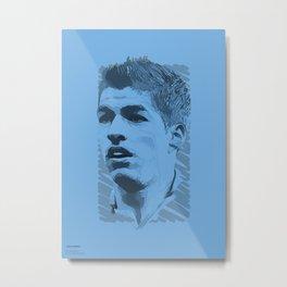 World Cup Edition - Luis Suarez / Uruguay Metal Print