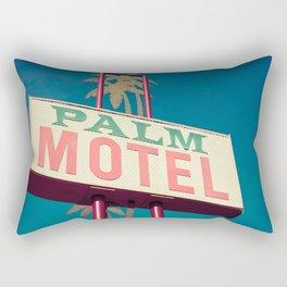 Palm Motel Rectangular Pillow