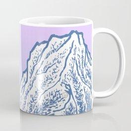 """遠望 series -""""Valley"""" - Linocut Coffee Mug"""