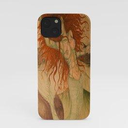 Green Moss Kingdom iPhone Case