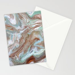 Milk Chocolate with peppermint & cream Stationery Cards